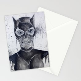 Catwoman Skull Stationery Cards