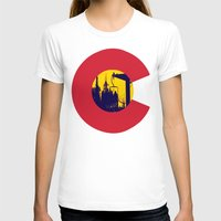 colorado T-shirts featuring Colorado by The Raff