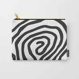 Tribal Print B&W- 06 Carry-All Pouch