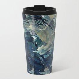 Water Colors Travel Mug
