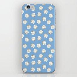 Cotton Blossom Toss in Carolina Blue iPhone Skin
