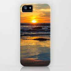 Sunset on Whipsiderry Beach Slim Case iPhone (5, 5s)