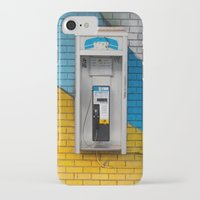 telephone iPhone & iPod Cases featuring Telephone by RMK Creative