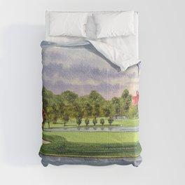 East Lake Golf Course Atlanta GA 15th Hole Comforters