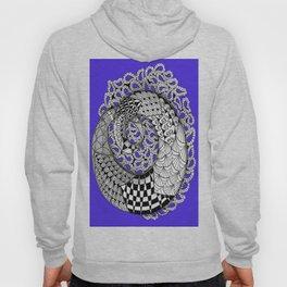 Zentangle Mobius Purple Hoody