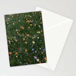 Springtime Flower Confetti Pattern | Photography Print Stationery Cards
