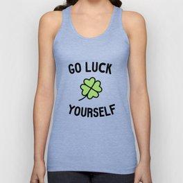 Go Luck Yourself Unisex Tank Top