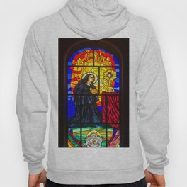 Stained Glass of the Cathedral Almudena Hoody