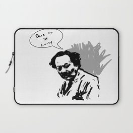 Dare to be lousy Laptop Sleeve