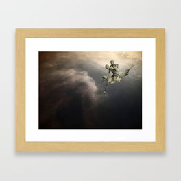 SkyWater Hero Framed Art Print