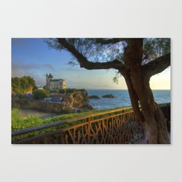 Biarritz France Canvas Print