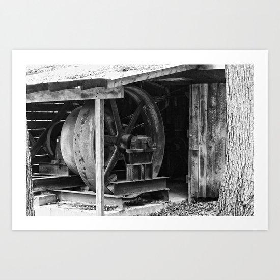 Machined Dream 08 Art Print