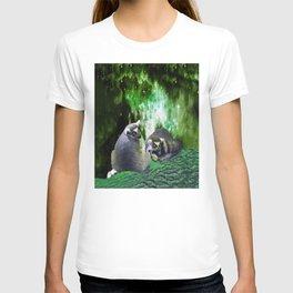 Lemurs on the Emerald Green Knolls T-shirt