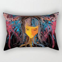 Girl Please! Rectangular Pillow