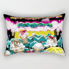 Ice Cream Dream3 Rectangular Pillow