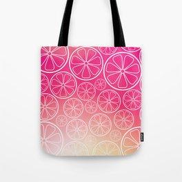 Citrus slices (pink grapefruit) Tote Bag