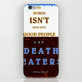 Good & Death Eater iPhone Skin
