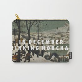 Horchata in the Snow Carry-All Pouch
