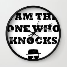 Heisenberg - The One Who Knocks Wall Clock