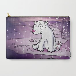 Polar bear Carry-All Pouch