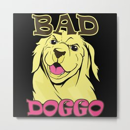 Bad Doggo Metal Print