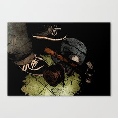 The Weapons Of War Canvas Print