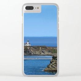 Cape Arago Lighthouse Clear iPhone Case