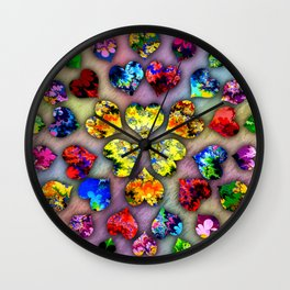 heart beat II Wall Clock