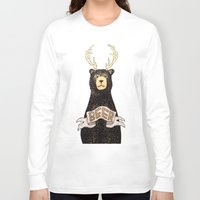 beer Long Sleeve T-shirts featuring Beer by Cale LeRoy