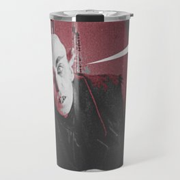 "'Count Orlock, the Vampire #3' from "" Nosferatu vs. Father Pipecock & Sister Funk (2014)"" Travel Mug"