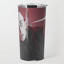 "'Count Orlock, the Vampire #3' from "" Nosferatu vs. Father Pipecock & Sister Funk (2014)"" Travel Mug"