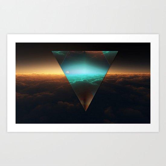 A.I Space Art Print