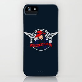 Where in the World is Peggy Carter? iPhone Case