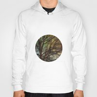 psychadelic Hoodies featuring Psychadelic Tree by Jeanne Hollington