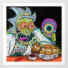 Nuggets Art Print