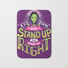 Stand up Bath Mat