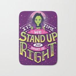 Stand up Bath Mat