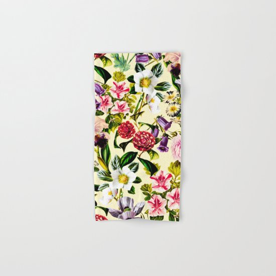 SUMMER BOTANICAL X Hand & Bath Towel