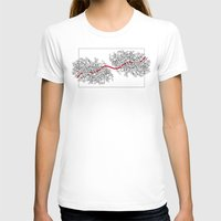 moulin rouge T-shirts featuring Fil rouge by Dejavu