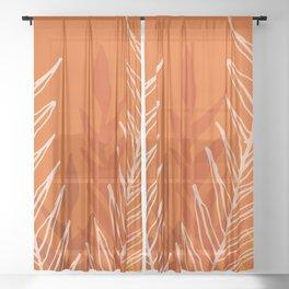 Late Summer Meadow Sheer Curtain