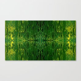 Corn Field Squid by Chris Sparks Canvas Print