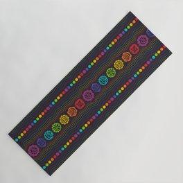Rainbow Chakras Yoga Mat