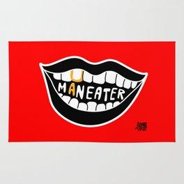 Maneater! - femme fatale crazy legs Rug