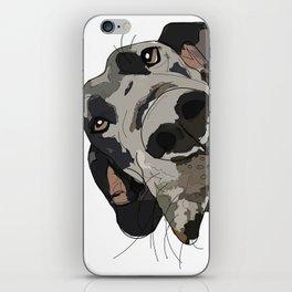 I Wuf You - Great Dane iPhone Skin