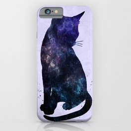 Galactic Cat iPhone Case