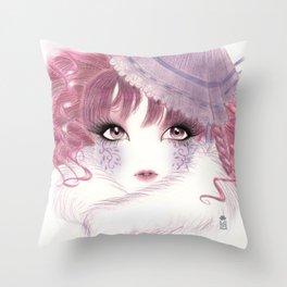 Shironuri Throw Pillow