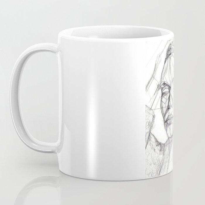 Donna Enigmatica #5; Vivien Solari #1 - Artist: Leon 47 ( Leon XLVII ) Coffee Mug