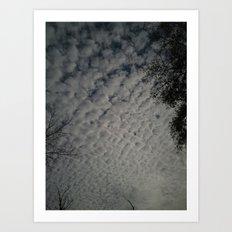 Skyscape 3 Art Print