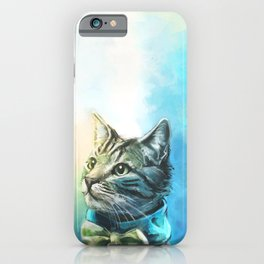 Handsome Cat iPhone Case