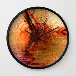 Reflez by Jean-François Dupuis Wall Clock